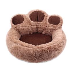 Casa de perro mascota de juguete de peluche suave felpa mullida cama OEM