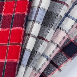 良質のShirtingファブリック綿の糸はTシャツファブリックのために染まった
