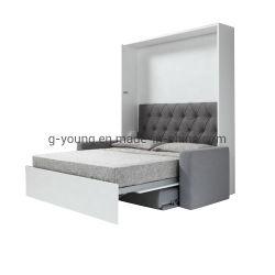カスタムスペース節約のスマートな家具の木製のソファーの壁のベッド