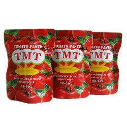 La pâte de tomate en conserve (70G, 210G, 400G, 800G, 2200g)