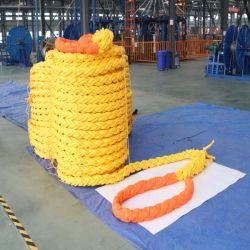 배 순항을%s 비 Stretchable UHMWPE 코어 돛 밧줄