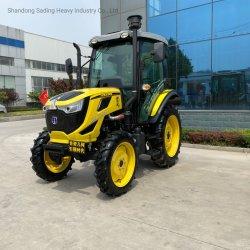 De Fabriek 80HP 4*4wheel van China drijft de Tractor van het Landbouwbedrijf van de Tuin van Landbouwmachines met Instrumenten