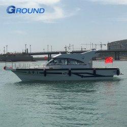 15m 50 футов кормовой дизельного двигателя привода каюте обойдите вокруг глубоким V алюминиевый рыболовного судна