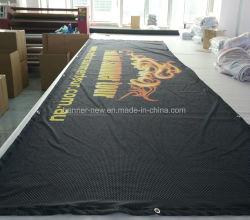 De adverterende Volledige Banner van Falg van de Stof van de Achtergrond van de Druk van de Kleur Digitale Grote