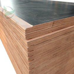 1160X2400X28mmのE0接着剤のKeruingの防水容器の床板の合板
