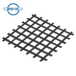 Reforço do pavimento Geogrid de fibra de vidro