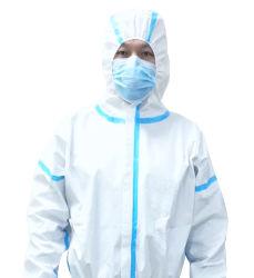 Beschikbare Waterdichte PPE van de Veiligheid Niet-geweven Overtrek/Workwear/Worksuit/Clothes