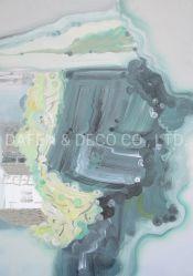 Het abstracte Decoratieve Art. van de Muur van het Olieverfschilderij van het Ontwerp van 2020 Nieuwe (0-229-50X70) Met de hand gemaakte