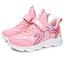 Schuhe der Flyknit Kinder bunter PU-Turnschuh-Mädchen-Schuh 2020