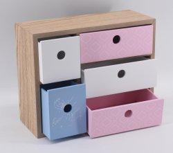 고전적인 사무실 저장 나무 상자