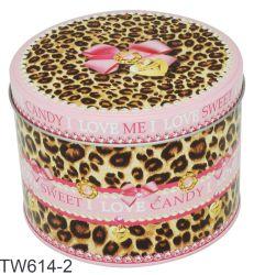 Le sucre de l'emballage Boîte en métal pour mariage, sweet bonbon personnalisé de l'emballage décoratif