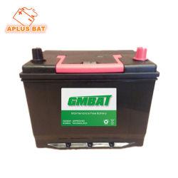 Batterie rechargeable de gros 55D26L 12V45ah complètement chargée Auto Batterie sans entretien