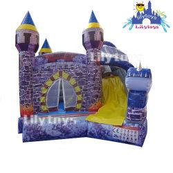 استخدم كوانغ تشو PVC tarpulin زورق مطاطي تجاري القفز القلعة كومبو