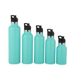 Flacons de dépression de bouteille en acier inoxydable de Thermos Sports Bouteille d'eau potable