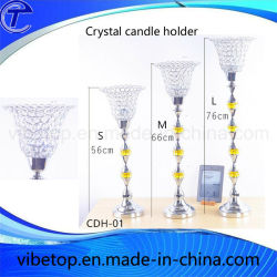 Wholesale Creative candelabro de cristal de la decoración del hogar