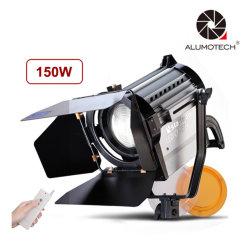 150W/200W/300W Refletor LED Wireless Bi-Color regulável de luz LED Fresnel Estúdio Spotlight 3200/5500K para iluminação de vídeo de fotos