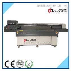 La Haute Définition en carreaux de céramique mur de fond de l'imprimante UV à plat numérique Machine d'impression à plat UV cylindre