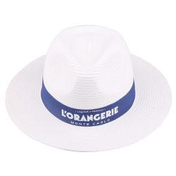 Panama-Hut-gesponnener Papierhut-Strohhut für Förderung