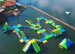 La sosta gonfiabile dell'acqua dei giochi popolari dell'acqua, sosta di galleggiamento gonfiabile dell'acqua di Lilytoys