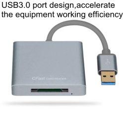 Alta velocidad de 500MB/S de USB 3.0 a 2.0 Lector de tarjetas Cfast