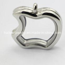最もよい販売のステンレス鋼のAppleのガラスロケットのペンダントの宝石類