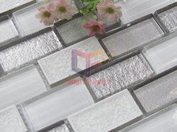 Bande de mélange en céramique classique blanc cristal mosaïque (SFC702)
