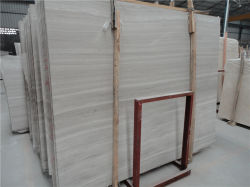Het houten Marmer van het Graniet van de Korrel Witte Marmeren