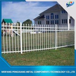 400-2400 haute clôture noir en aluminium tubulaire pour jardin
