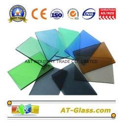 4мм-10мм тонированное стекло плавающего режима используется для создания мебели и т.д.