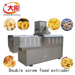 De Machine van de Extruder van het Voedsel van de Lijn van het Proces van de Snack van de rookwolk met de Machine van de Verpakking
