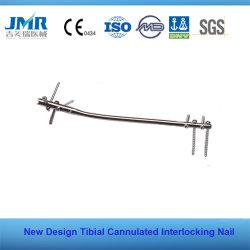 Tibial釘をかみ合わせる整形外科のインプラント連結の釘前のCanulated
