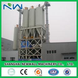 20tph Tipo Torre máquina de mistura Argamassas com misturador de arado