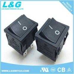Iluminación decorativa 2 de 4 ejes de balancín Psotion Micro interruptor de botón