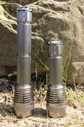 A1 longue Modèle T6 premier accent longue poutre lampe de poche en alliage en aluminium