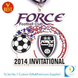 Médaille d'argent sur invitation de métal de gros pour le Football Club
