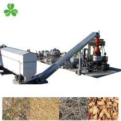 Automático de encendido automático de pélets de gasificante máquina Quema de biomasa para cocinar o calentar/secado/Caldera