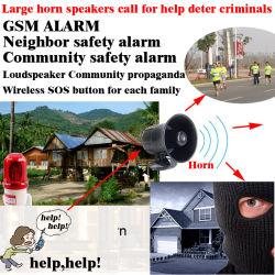 GSM соседа, GSM сообщества в плане безопасности и поле сигнала тревоги