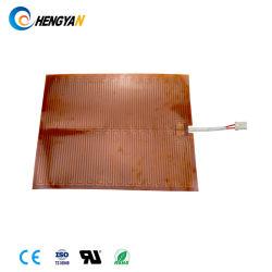 Calefacción eléctrica de Pi Thin Film Ploymide calentador para descongelar el espejo de coche