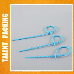 Reißverschluss-Gleichheit wiederverwendeter Knoten-Kugel-Typ Nylon-Kabelbinder des Nylon-66