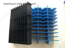Séparés de haute qualité ou protégées de flûte de feuilles de PP en carton ondulé/board/carte en plastique ondulé