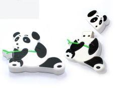 Adorável Filme Kong Fu Panda Unidade de Memória Flash USB de 4GB/8GB /16GB de material de borracha