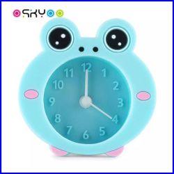 ساعة منبه جديدة لكارتون الحيوانات السيليكون للأطفال