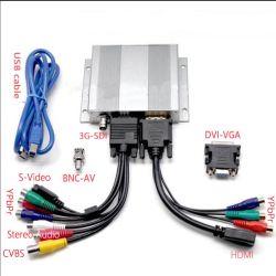 HDMI к порту USB 3.0 1080P - все в одном HD съемки совместимость с Win7, 8, 10 Mac OS Linux 1080P/60 3G-SDI /HDMI/DVI/VGA/YPbPr/CVBS/стерео аудио в режиме реального времени приготовления на карту памяти