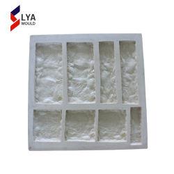 Polyurethan-Silikon-Gummi-Gussteil-Stein-Formen für künstlichen Stein