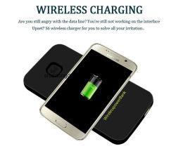 De mobiele Bank 6000mAh van de Macht van de Telefoon van de Batterij van Toebehoren de Draadloze Bank van de Macht voor Samsung S8 voor Xiaomi Mi6