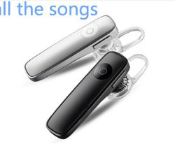 Piccolo Mono Wireless Bluetooth Earphone per il iPad Samsung di iPhone