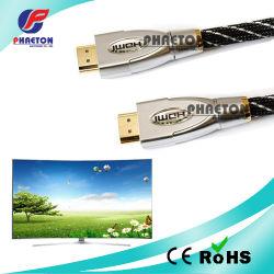純亜鉄酸塩(pH6-1209)が付いているデータ通信HDMI AVケーブル