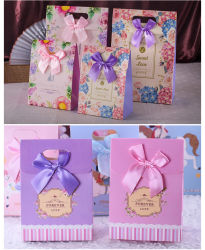 Boîte de bonbons Boîte cadeau de mariage mariage créatif bébé Pleine Lune sac cadeau anniversaire Candy Box Flip un sac à main