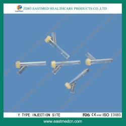 Latexfreier Y-Injektionsanschluss mit CE&ISO