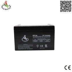 6V 7.2AH VRLA selladas de plomo ácido de batería para balanza digital